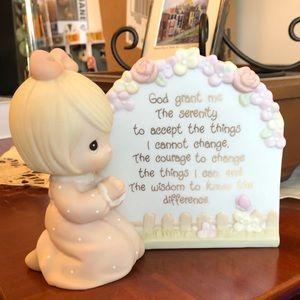 """Serenity Prayer Girl"" Precious Moments"